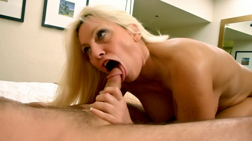 Mature MILF Cala Worships a Cock