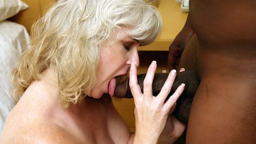 Mature MILF Stacey Interracial Movie