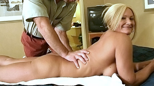 Whenever Roxy is tired and stressed she goes on a holiday where nobody knows her and she could do whatever she wanted This busty blonde is into getting massages but not just the usual kind She wants to have every inch of her body pampered and that definitely includes her hot pussy and the insides of her mouth
